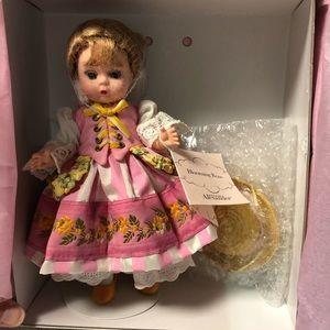 "Madame Alexander "" blooming rose"" doll"